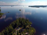 Kivijärvi. Mökki (Hiekka) 5 tähteä/palju