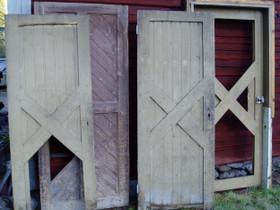 VR:n ovia vm. 1908, Ikkunat, ovet ja lattiat, Rakennustarvikkeet ja työkalut, Mustasaari, Tori.fi