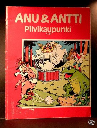 Anu ja Antti sarjakuvat