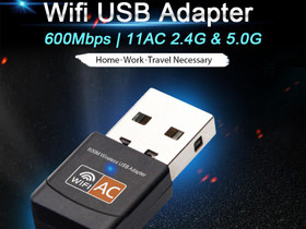 Easyidea Wi-Fi tikku ;Micro-koko;600Mbps; 2.4&5Ghz, Verkkotuotteet, Tietokoneet ja lisälaitteet, Tuusula, Tori.fi