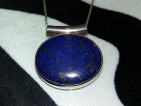 Aitoa lapis lazuli kivi riipus ketjulla OTULITY 92, Kellot ja korut, Asusteet ja kellot, Porvoo, Tori.fi