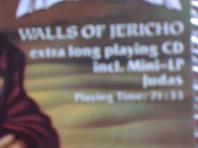 Helloween Walls of Jericho cd, Musiikki CD, DVD ja äänitteet, Musiikki ja soittimet, Kangasala, Tori.fi
