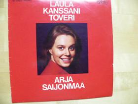 Arja Saijonmaa LP-levy;Laula kanssani toveri, Musiikki CD, DVD ja äänitteet, Musiikki ja soittimet, Iisalmi, Tori.fi