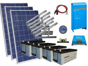 Solar 1350W mökkijärjestelmä edullisesti, Sähkötarvikkeet, Rakennustarvikkeet ja työkalut, Vantaa, Tori.fi