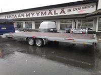 Tekno-Trailer 6m lavetti kipillä sekä ajosilloilla