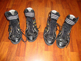 2 x Adidas treenikengät, Vaatteet ja kengät, Vaasa, Tori.fi