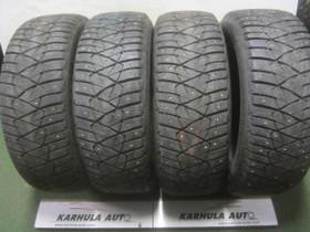 """205/60 R16"""" käytetty nastarengas Dunlop, Renkaat ja vanteet, Auton varaosat ja tarvikkeet, Lahti, Tori.fi"""