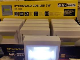 Kytkinvalo Led 3w 240Lum ei sähkön vetoa, Muu viihde-elektroniikka, Viihde-elektroniikka, Harjavalta, Tori.fi