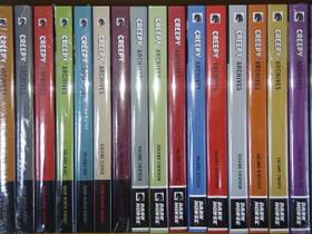 Sarjakuvakirja 04 - Creepy Archives HC 01-25, 28, Sarjakuvat, Kirjat ja lehdet, Heinola, Tori.fi