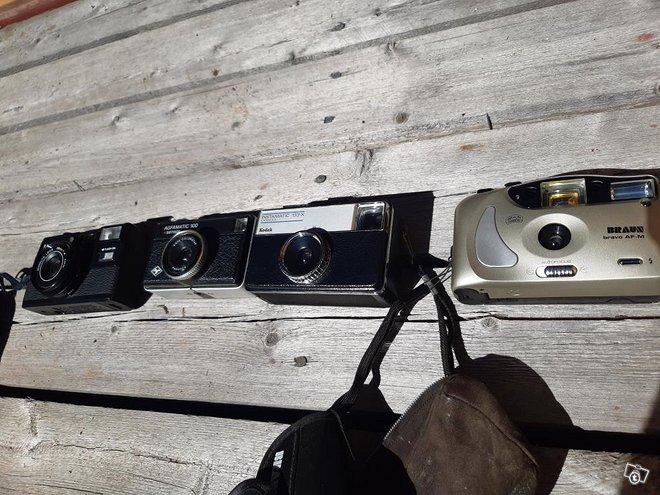 Retro kameroita
