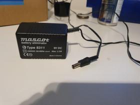Mascot 8311 virtalähde 9V DC 3kpl, Muu viihde-elektroniikka, Viihde-elektroniikka, Eura, Tori.fi
