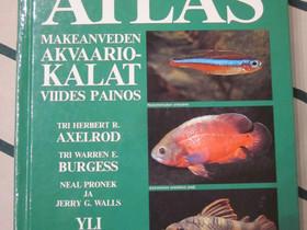 Tri Axelrodin Atlas Makeanveden akvaariokalat, Harrastekirjat, Kirjat ja lehdet, Järvenpää, Tori.fi