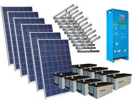 Solar 2020W mökkijärjestelmä edullisesti, Sähkötarvikkeet, Rakennustarvikkeet ja työkalut, Vantaa, Tori.fi