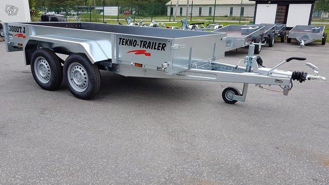 Tekno-Trailer 3000TJ-Pro jarrullinen peräkärry