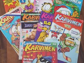 Karvinen sarjakuvat, Sarjakuvat, Kirjat ja lehdet, Kajaani, Tori.fi