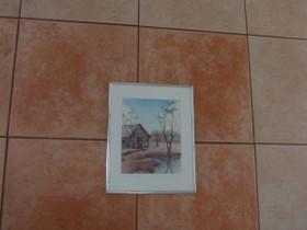 Pieni taulu, 30 x 24 cm, Taulut, Sisustus ja huonekalut, Tampere, Tori.fi