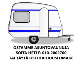 Asuntovaunut käteiseksi Helppoa ja turvallista, Asuntovaunut, Matkailuautot ja asuntovaunut, Tuusula, Tori.fi