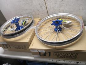 Haan Wheels vannesarja Yamaha 21/19, Moottoripyörän varaosat ja tarvikkeet, Mototarvikkeet ja varaosat, Helsinki, Tori.fi