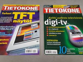 Tietokone lehti 2kpl 3/2000 ja 1/2006, Lehdet, Kirjat ja lehdet, Jyväskylä, Tori.fi