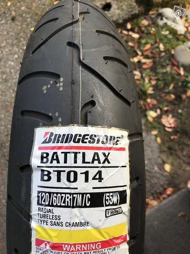Bridgestone Battlax BTO14 120/60-17