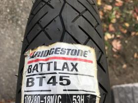 Bridgestone Battlax BT45 100/80-18, Renkaat, Mototarvikkeet ja varaosat, Alavus, Tori.fi