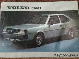 Volvo 343 - käyttöohjekirja, Lisävarusteet ja autotarvikkeet, Auton varaosat ja tarvikkeet, Loppi, Tori.fi