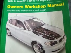 BMW:n korjauskäsikirja, Lisävarusteet ja autotarvikkeet, Auton varaosat ja tarvikkeet, Oulu, Tori.fi