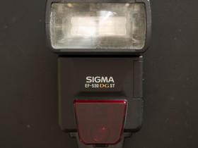 Sigma EF-530 DG ST Canon E-TTL, Valokuvaustarvikkeet, Kamerat ja valokuvaus, Pori, Tori.fi