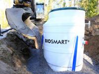 BIOSMART® pienpuhdistamo jätevedelle 1-6 henk