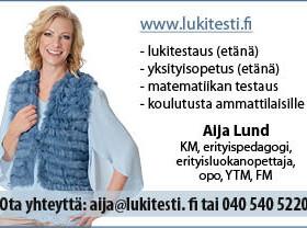 LUKITESTI tai matematiikan testi ja YKSITYISOPETUS, Palvelut, Kokemäki, Tori.fi