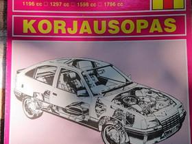 Korjausopas - Opel Kadett (D & E) 1979-1986, Lisävarusteet ja autotarvikkeet, Auton varaosat ja tarvikkeet, Loppi, Tori.fi