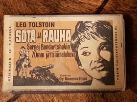 Tulitikkulaatikko Sota ja rauha, Muu keräily, Keräily, Lappeenranta, Tori.fi