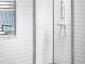 Suihkunurkka 80x80 kirkas- käyttämätön, Kylpyhuoneet, WC:t ja saunat, Rakennustarvikkeet ja työkalut, Hamina, Tori.fi