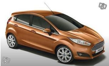 Ford Fiesta 252 Eur / VKO = 36 Eur / vrk