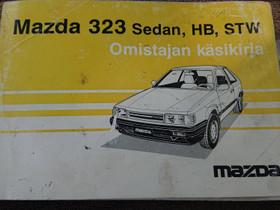 MAZDA 322 sedan, HB, STW - Omistajan käsikirja, Lisävarusteet ja autotarvikkeet, Auton varaosat ja tarvikkeet, Loppi, Tori.fi