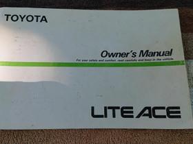 Toyota liteace - Owner's manual, Lisävarusteet ja autotarvikkeet, Auton varaosat ja tarvikkeet, Loppi, Tori.fi