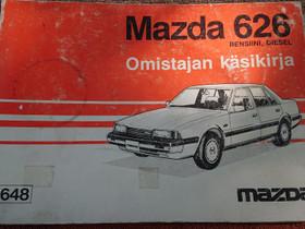 MAZDA 626 - Omistajan käsikirja (punainen), Lisävarusteet ja autotarvikkeet, Auton varaosat ja tarvikkeet, Loppi, Tori.fi
