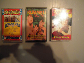 C-kasetteja 3kpl, Musiikki CD, DVD ja äänitteet, Musiikki ja soittimet, Seinäjoki, Tori.fi