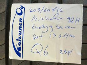 Kesärenkaat 205 60 R16 Michelin 2 kpl, Renkaat ja vanteet, Espoo, Tori.fi