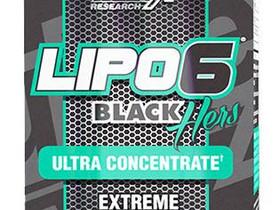 NUTREX LIPO-6 BLACK HERS ULTRA CONCENTRATE 60 cps, Kuntoilu ja fitness, Urheilu ja ulkoilu, Helsinki, Tori.fi
