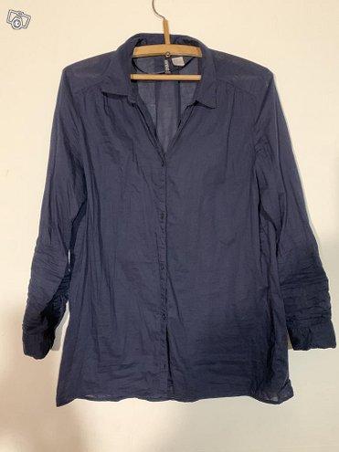 H&M siniset paitapuserot