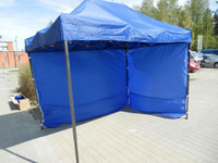 Toriteltta, popup teltta, myyntiteltta eri kokoja