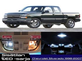 Chevrolet Silverado (MK1) Sisätilan LED -sarja;x12, Lisävarusteet ja autotarvikkeet, Auton varaosat ja tarvikkeet, Tuusula, Tori.fi