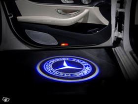 Benz W220/R230 logolliset projektorivalot oviin, Lisävarusteet ja autotarvikkeet, Auton varaosat ja tarvikkeet, Tuusula, Tori.fi