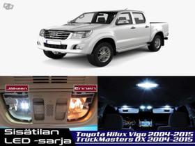 Toyota Hilux Vigo Sisätilan LED -sarja ;x8, Lisävarusteet ja autotarvikkeet, Auton varaosat ja tarvikkeet, Tuusula, Tori.fi