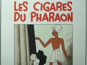 Lithograph 82 - Herge - Tintin, Les Cigares Du, Sarjakuvat, Kirjat ja lehdet, Heinola, Tori.fi