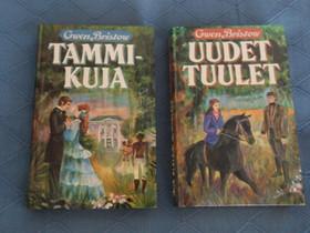 Gwen Bristow, 2 kirjaa, Uudet tuulet, Tammikuja, Kaunokirjallisuus, Kirjat ja lehdet, Kangasniemi, Tori.fi