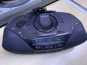 Philips AZ2030/00 Kasetti/CD-soitin, Audio ja musiikkilaitteet, Viihde-elektroniikka, Säkylä, Tori.fi