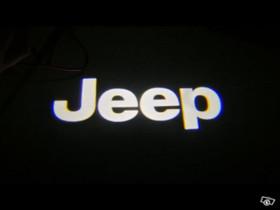 Jeep Cherokee logolliset projektorivalot oviin, Lisävarusteet ja autotarvikkeet, Auton varaosat ja tarvikkeet, Tuusula, Tori.fi