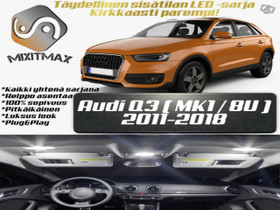 Audi Q3 (8U) Sisätilan LED -sarja ;x10, Lisävarusteet ja autotarvikkeet, Auton varaosat ja tarvikkeet, Tuusula, Tori.fi